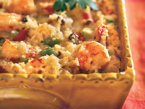 The textures and flavors combine, blending into the creamy. Cajun Shrimp Casserole - Recipes