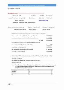 jct practical completion certificate template - practical completion certificate template jct gallery
