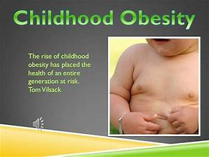 Obesity authorstream for Childhood obesity powerpoint templates
