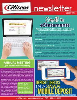 Citizens Community Credit Union Fort Dodge by Newsletter Citizens Community Credit Union