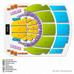 Seating Chart Met Philadelphia The Met Philadelphia Tickets 24 Events On Sale Now