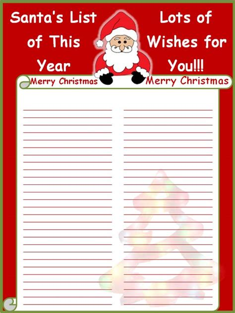 christmas list template  commercewordpress