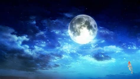 Anime Moon Wallpaper - moonlight backgrounds wallpaper cave