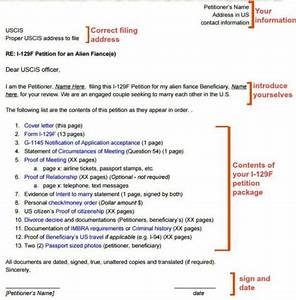 I 129f cover letter sample k 1 visa visa tutor for Documents checklist visa 600