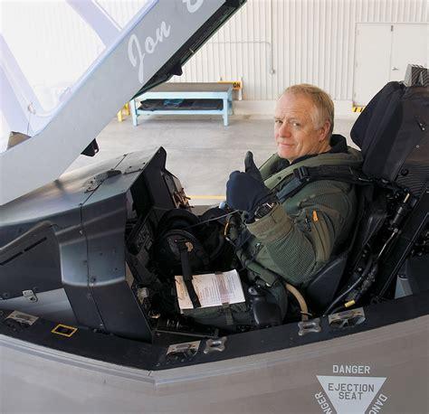 First Test Flight Of F-35a