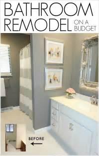 Diy Bathroom Remodel Ideas Livelovediy Diy Bathroom Remodel On A Budget