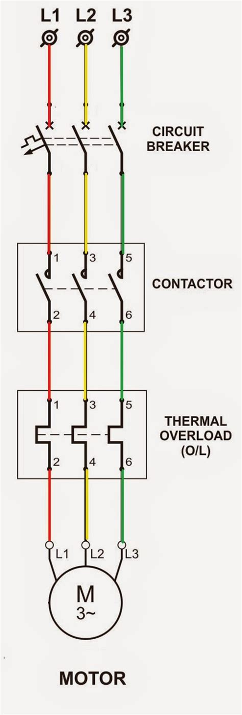 phase motor starter wiring diagram   wiring diagram