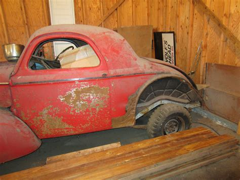 willys  door coupe  style gasser classic