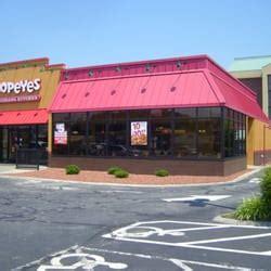 popeyes louisiana kitchen    reviews fast food   gate city blvd