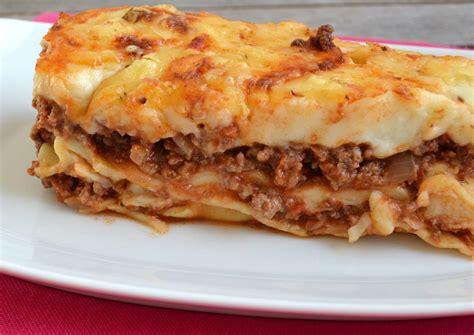 cuisine lasagne recette lasagne nos conseils pour un plat au top qui