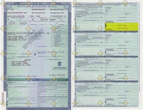 Pennsylvania Vehicle Title Donation Questions