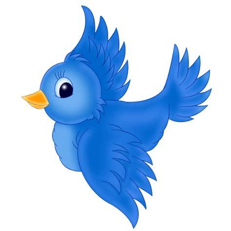 blue birds birds clip art cartoon characters cartoon