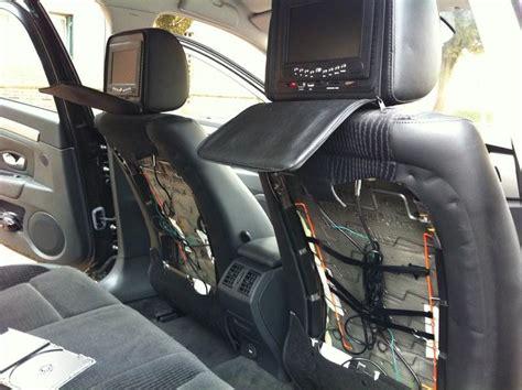 comment installer un siege auto installation d 39 appui têtes avec dvd intégrés