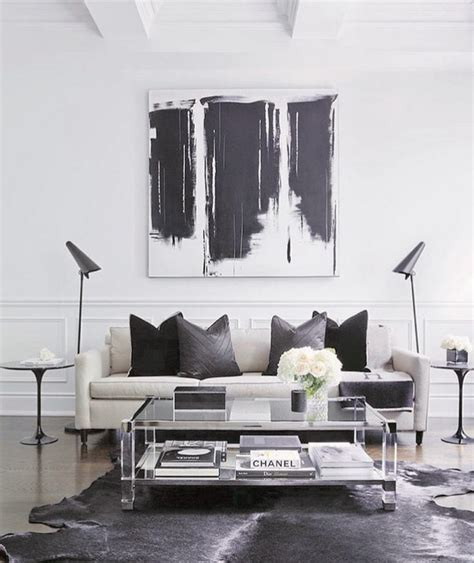 Living Room Decor Ideas Black And White by Best 25 Black White Decor Ideas On Monochrome