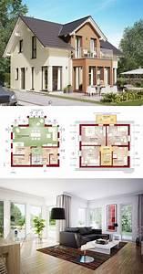 Fertighaus Mit Anbau : einfamilienhaus architektur klassisch mit satteldach zwerchgiebel erker anbau und balkon ~ Sanjose-hotels-ca.com Haus und Dekorationen