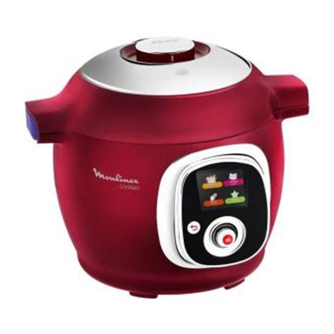 multicuiseur intelligent cookeo moulinex ce rouge