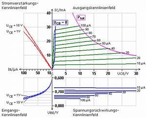 Emitterschaltung Berechnen : transistor kennlinienfelder und h parameter ~ Themetempest.com Abrechnung