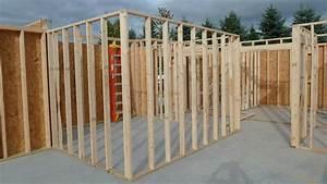 Garage Rebar, Interior Wall Framing, Radiant Heat