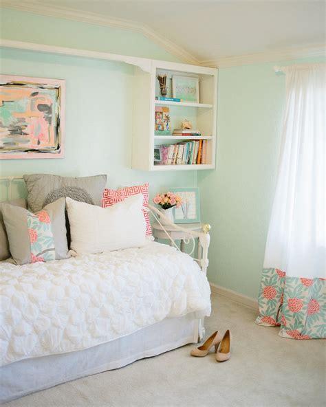 Mint Peachy Pink My Bedroom Tour Reveal Michaela
