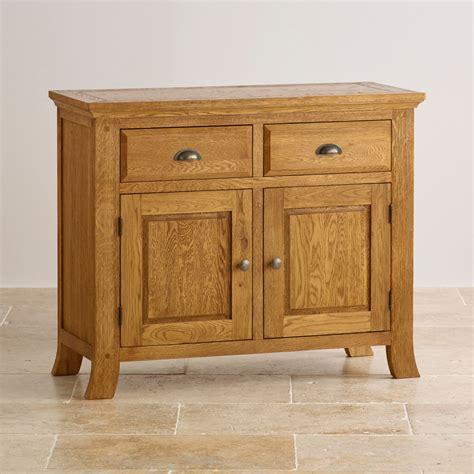 Oak Furniture Sideboard by Taunton Small Sideboard In Rustic Solid Oak Oak
