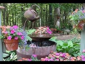 springbrunnen selber bauen springbrunnen selber machen With französischer balkon mit brunnen garten bauen