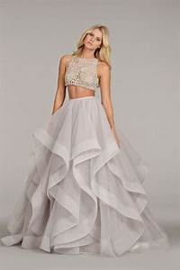 12 daring two piece wedding dresses for unique brides With two piece dresses for weddings
