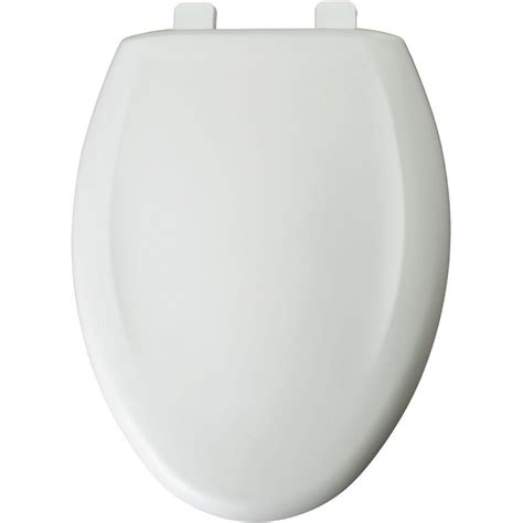 Church Elongated Closed Front Toilet Seat In White380tca