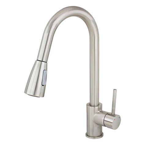 single kitchen faucet with sprayer kokols single handle pull sprayer kitchen faucet in