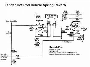 Solid State Spring Tank Reverb Circuit