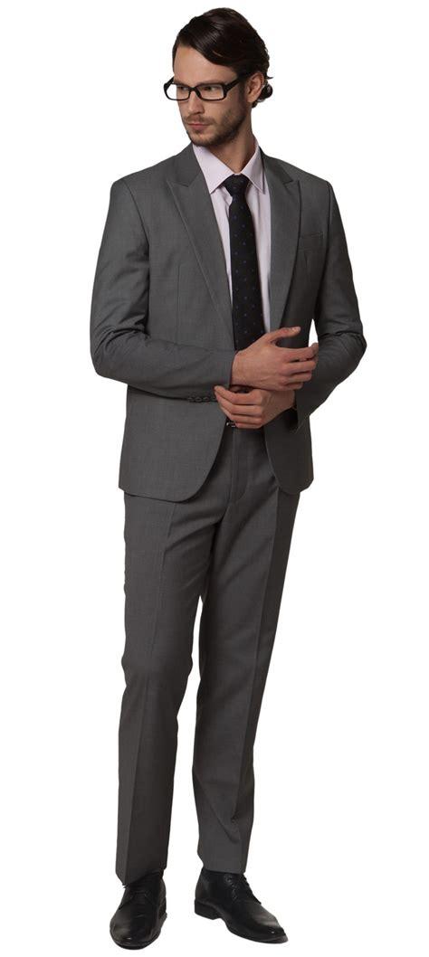 accueil 187 costume slim pour homme gris ou noir veste cintr 233 e coupe