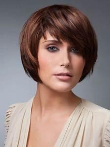Coupe De Cheveux Carré Court : coupe de cheveux carr court avec frange ~ Melissatoandfro.com Idées de Décoration