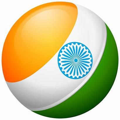 Flag India Transparent Round Clip Indian Clipart