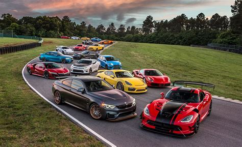 Lightning Lap 2016 The Year's Hottest Performance Cars At