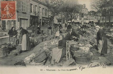 le bureau vierzon vierzon en 1910 le marché du petit mail cartes
