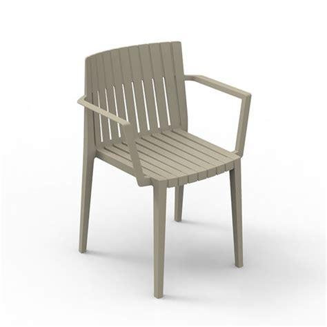 chaise confortable avec accoudoirs chaise avec accoudoirs spritz jardinchic