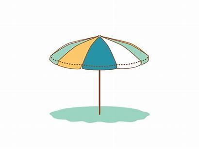 Branding Element Dribbble Umbrella Wind Animated Gifs