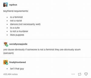 19 Real AF Tumblr Posts That Will Make All Feminists Laugh ...