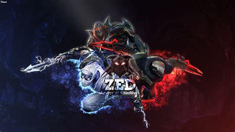 Project Zed & Shockblade Zed & Classic Zed  Lol Wallpapers