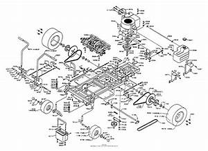 Dixon Ztr 4421  1997  Parts Diagram For Chassis Assembly