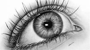 How To Draw A Realistic Eye With Graphite  Drawing