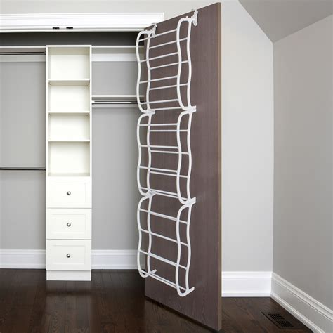 the door shoe rack for 36 pair wall hanging closet