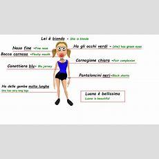 Italian Adjectives  Describe A Person In Italian Language