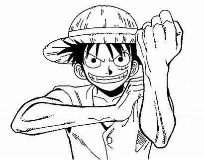 Luffy Monkey Coloring Pages Coloringcrew