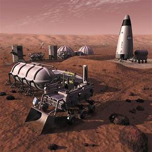 52 best Future Space Colonies images on Pinterest | Mars ...