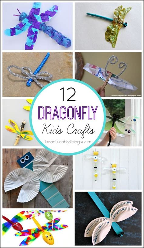 dragonfly crafts  kids dragon fly craft insect