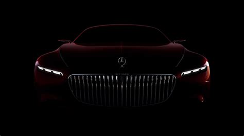 New Vision Mercedes Maybach 6 Surfaces Online And Looks
