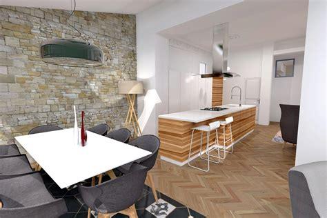 cuisine mur en mur en cuisine photos de conception de maison
