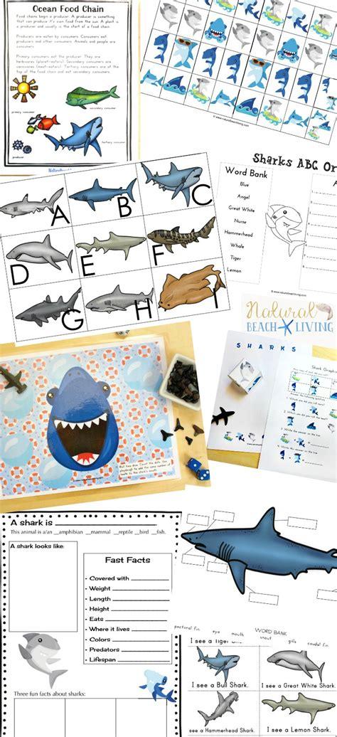 the best shark printable activities for shark 850 | Shark Printables Activities for Kids pin