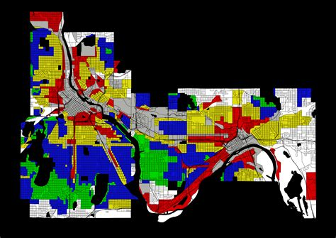 map monday twin cities redlining holc map