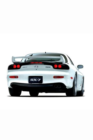 Mazda Iphone Wallpaper by Mazda Rx7 Iphone Wallpaper 320x480 Wallpoper